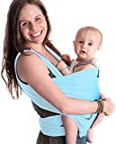 CuddleBug Fular Portabebés 9 en 1 – Canguro para Bebés Recién Nacidos y...