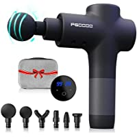 ifgoooo 20-Speed Deep Tissue Percussion Muscle Massager Gun (Matte Black)