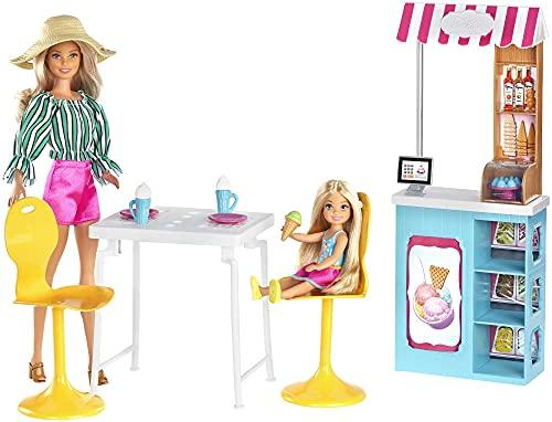 Barbie Heladería con muñeca (Mattel GBK87)