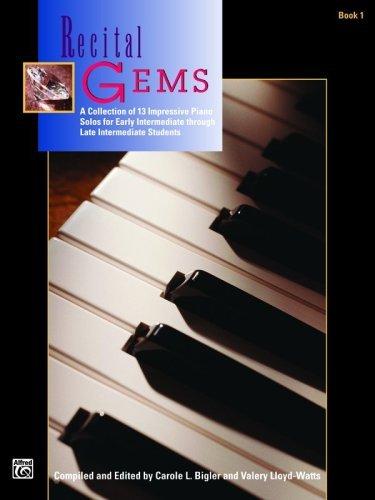 Recital Gems, Bk 1 (Alfred Masterwork Edition) (English Edition)