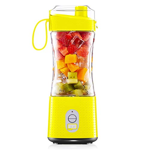 Mini Juicer Portable Rechargeable Juicer Cup Household Electric Multifunctional Small Juice Cup, Mini Portable Blender, Personal Blender Smoothie Maker, Portable Fruit Blender, Cup Blender Portabl