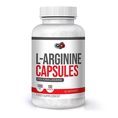 Pure L ARGININE 2000mg Capsules Supplement High Dosage|Pre Workout Nitric Oxide Booster Amino Acid|Increases Muscle Pump Growth Energy Strength and Performance|Pack of 100 Tablets 50 Servings