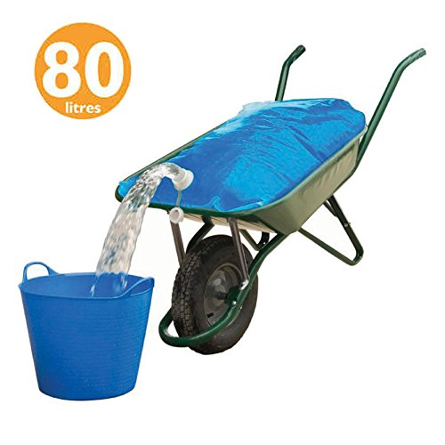 Spares2go edilizia/costruzione acqua contenitore carriola Carrier bag (80litri)