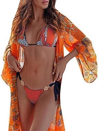 Darringls Bikini Donna, Costumi da Bagno Costumi Donna Mare Due Pezzi Brasiliana Push Up Costumi Mare da Donna Interi Taglie Forti 2019 più Nuovo Bikini Triangolo Tankini Swimsuit - Confronta prezzi