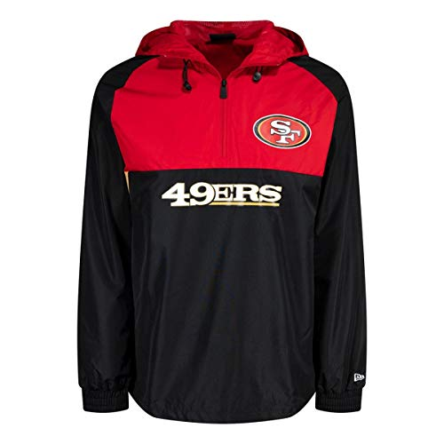 New Era Block Windbreaker Jacke - San Francisco 49ers - S