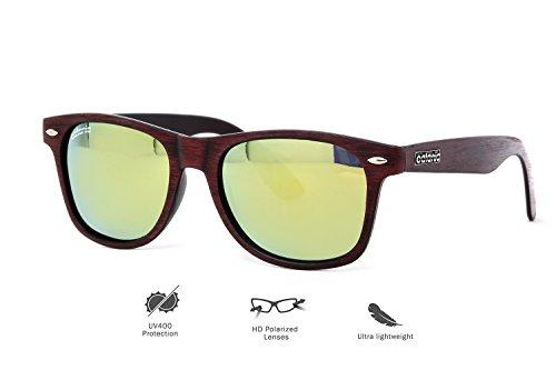Catania Occhiali  Occhiali da Sole Polarizzati - Modello Classico - Uomo e Donna UV400 (Lenti Polarizzate) Include Custodia