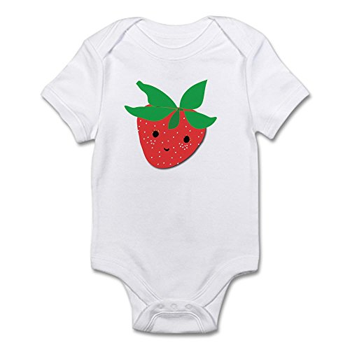 CafePress Strawberry Friend Infant Bodysuit - Cute Infant Bodysuit Baby...