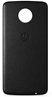 Moto Snap, Motorola, Style Shell, PG38C02359, Couro Preto