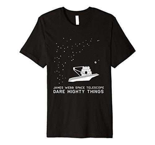 James Webb Platz Teleskop Inspirierende Exploration T-Shirt
