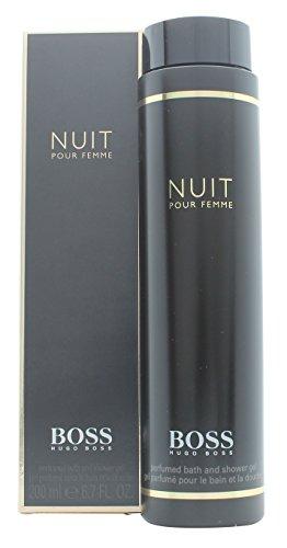 Hugo Boss NUIT 200ml (6.7 Fl.Oz) Perfumed Bath and Shower Gel