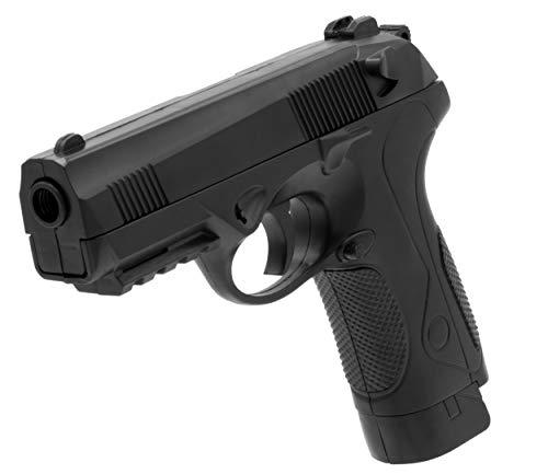 Softair Gun Airsoft Pistole + Munition | Cadofe 2019A. Profi Voll ABS | 19cm. Inkl. Magazin & unter 0,5 Joule (ab 14 Jahre)