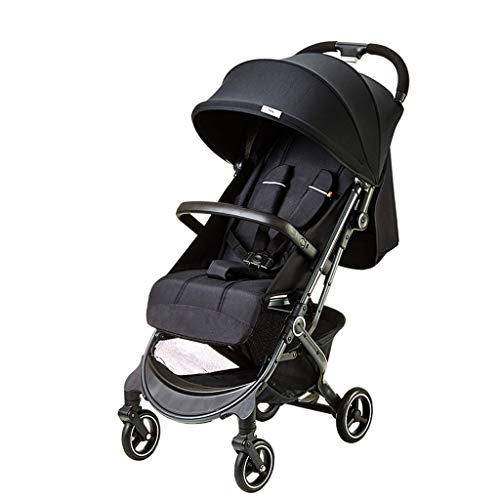 Buy Discount Jiji Baby cart Baby Carriage Lightweight Stroller One-Hand Fold Baby Stroller with 5-Po...