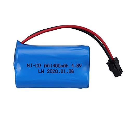 Grehod Batería Recargable AA de la batería de 4.8v 1400mah para la batería del Juguete del Barco de los Coches RC 4.8v RC Red