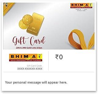 Bhima Jewellers Gold Coin & Bar E-Gift Card