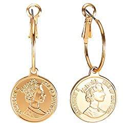 Uncommom James Coin Earrings