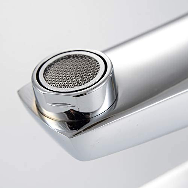 Basin Faucet Copper Washbasin Faucet Single Hole Hot and Cold Wash Basin Faucet Basin Faucet