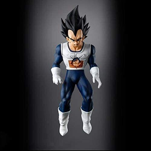 Rowe Anime Figure Model Dragon Ball Gacha Inferiority Tower Vegeta Character PVC Vinyl Decoration Figurine Role Toys Best Collection of Adult Anime Fans Gift High 15CM Anime Model ( Size : 15CM )