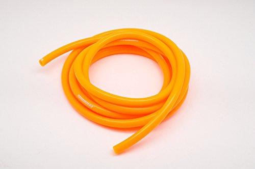 シリコンバキュームホース Φ12mm 1M エアブースト配管 オレンジ