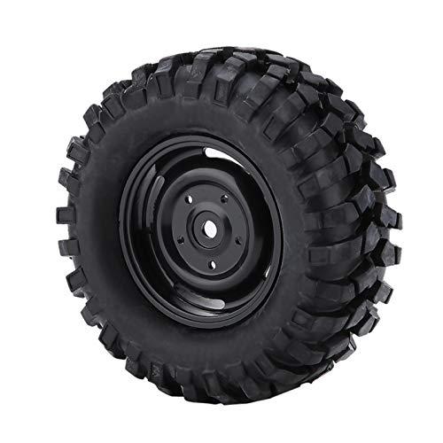 Okuyonic Pieza De Coche A Control Remoto, Resistente 1:10 Neumáticos Neumáticos De Goma con 4 X Neumáticos, para Hsp Redcat Axial SCX10 D90 CC01 1/10 Coche RC