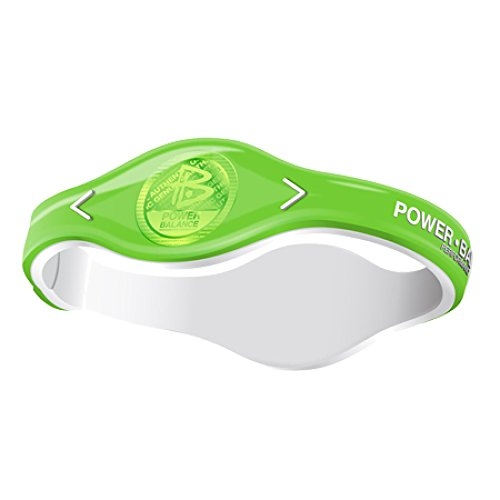 Power Balance Pro Ion - Brazalete de Silicona, Color Green Forest - Tamaño S