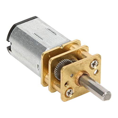 Reducción de velocidad Motor de caja de cambios Motor eléctrico de gran torsión Caja de cambios de metal Motor de engranajes Motor de(50RPM)