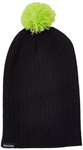 Urban Classics Wintermütze Neon Contrast Bobble Beanie Bonnet Homme, Jaune (Gelb), (Taille Fabricant: One Size)