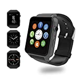 Evershop Smartwatch con Camera And SIM Card Fessura, Fitness Activity Tracker con...