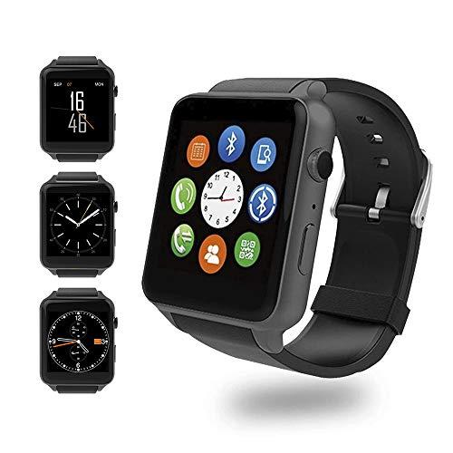 Evershop Fitness Tracker Smart Watch mit HD-Kamera und SIM-Kartensteckplatz zur Überwachung von Herzfrequenz und Schlaf