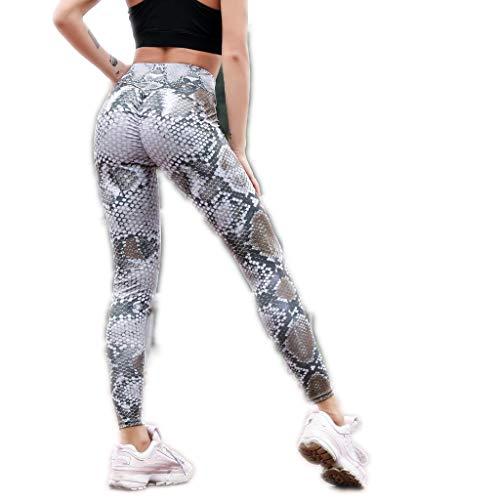 Ulanda-EU Yoga Leggings Amen Hose, Beiläufige High Waist Freizeithose Casual Lange Hose Streetwear Outdoorhose Haremshose Aladinhose Yogahose Strecken Sporthose