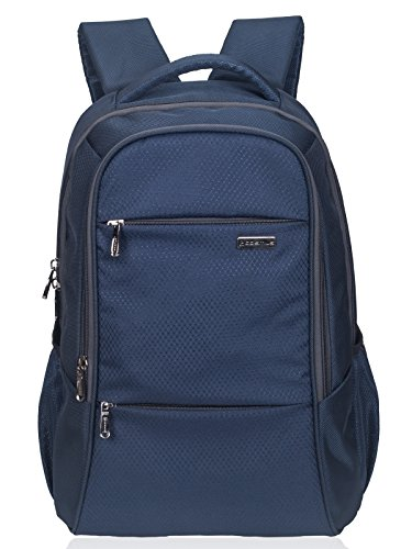 COSMUS Polyester Navy Blue Laptop Backpack for 15.6 inch