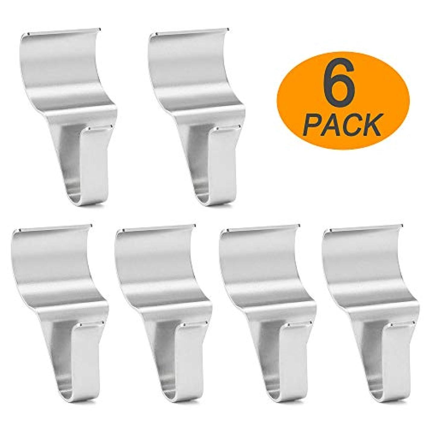 Wish Vinyl Siding Hangers Hooks (6 Pack), Heavy Duty Stainless Steel Low Profile No-Hole Hangers Hooks