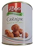880 g castaño al cirope castaño Chestnuts in syrup