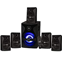 powerful Acoustic sound from Goldwood Bluetooth 5.1 surround sound system with LED display, FM tuner, …