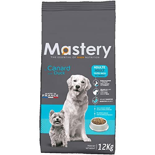 Mastery Nourriture pour Chien Adulte Canard, Croquettes pour Adultes Chiens - 12 kg