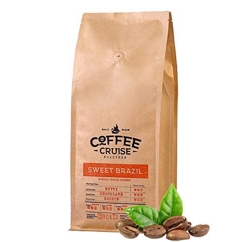 COFFEE CRUISE © Granos De Café De Un Solo Origen - Sweet Brazil - 1 kg - 100% Arabica