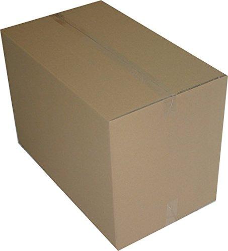 3 St. Faltkartons 1200x600x600 mm Umzugskartons 2.40 BC 2 wellig stabil Versandschachtel 120x60x60 cm Kiste Post Versandbox