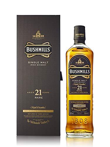 Bushmills - Single Malt Irish - 21 year old Whisky
