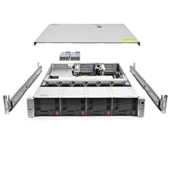 HP ProLiant DL380 G9 Gen9 4 Bay LFF 2U Rackmount Server 1x Xeon E5-2620 V3 2.4GHz 6 Core 16GB DDR4 RAM B140i 4X Trays 10GB/40GB Network 2X 500W PSUs Rails  Certified Refurbished