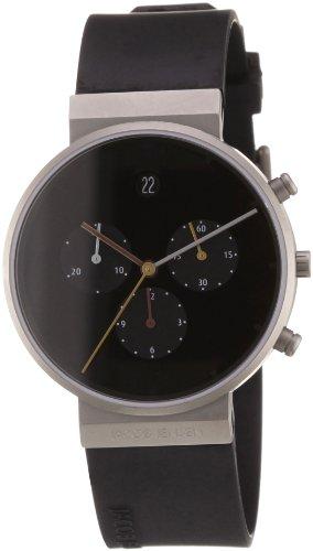 Jacob Jensen Herren-Armbanduhr Chronograph Quarz Kautschuk 32600