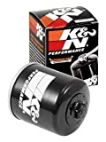 K&N Motorcycle Oil Filter: High Performance Black Oil Filter with...