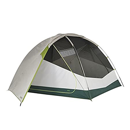 Kelty Trail Ridge 6 Tent with footprint - the stargazing fly setup.