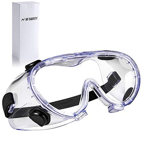 ゴーグル 細菌飛沫対策眼鏡 防花粉 防曇 保護メガネ 軽量 透明 調整可能 耐衝撃 風砂を防ぐ 防塵