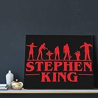 Stephen King 絵 壁掛け 絵画 フレームポスター アートパネル インテリア 部屋飾り バー アートフレーム 壁飾り 壁ポスター