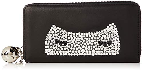 [ツモリチサト] 財布 キラネコ ブラック
