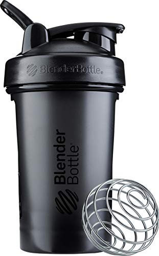 BlenderBottle C03588 Classic V2 Shaker Bottl e, 20-Ounce, Black