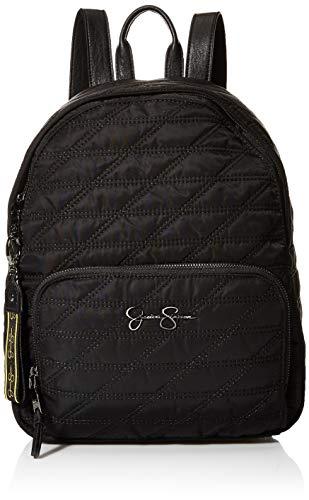 Jessica Simpson Damen Backpack Kaia Rucksack, schwarz, Einheitsgröße