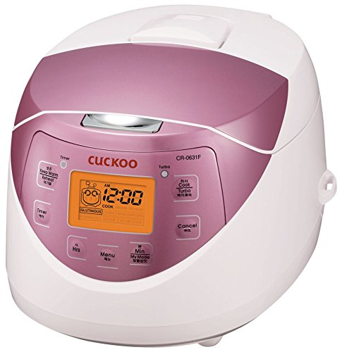 Cuckoo CR-0631F 6-cup Multifunctional Micom Rice Cooker & Warmer – 9...