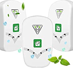 Air Purifier for Home, Portable Air Purifier, Plug-in Negative Ion Air Purifier No Filter Household Odor Cleaner for Remove Pets Smell, Smoke, Allergies and Smoke Dust, 3 Pack