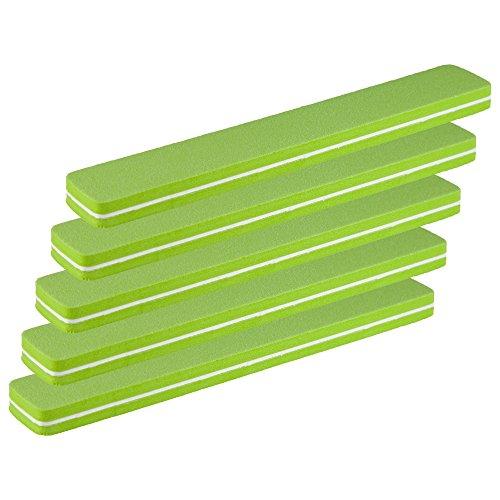 5er-Pack Profi Buffer-Feile Rechteckfeile grün SUPERFLEX Körnung fein 180/180