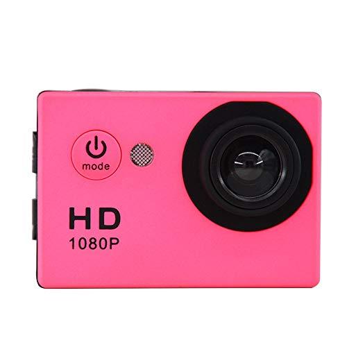 Mihaojianbing Fotocamera Subacquea/videocamera HD da 120 Gradi grandangolare 2.0 Pollici Display di distribuzione Shell Impermeabile 30 Metri Impermea